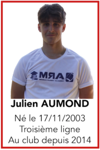 AUMOND Julien