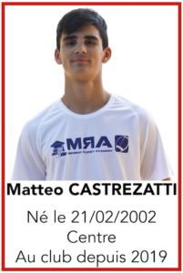 CASTREZATTI Matteo