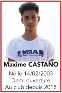 CASTANO Maxime