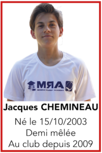 CHEMINEAU Jacques
