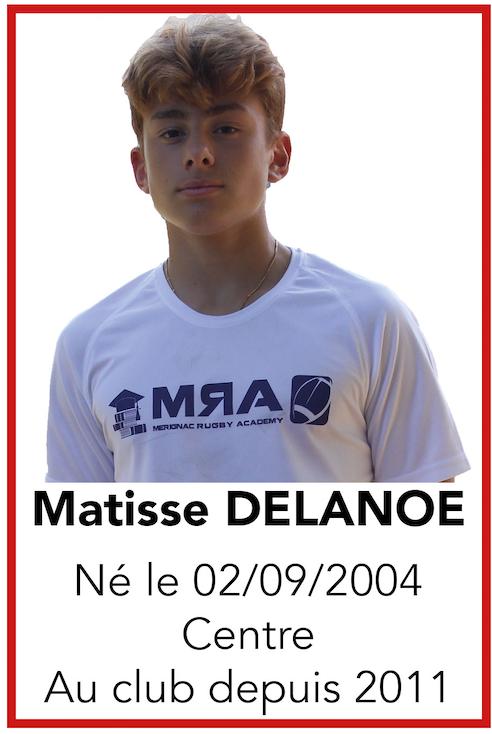 DELANOE Matisse