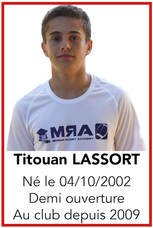 LASSORT Titouan