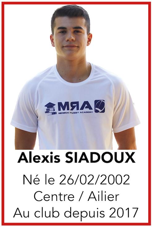 SIADOUX Alexis